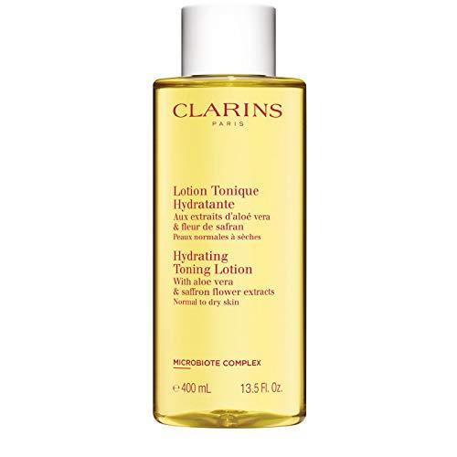Clarins Hydrating Toning Lotion Tonique Hydratante Gesichtswasser für normale, trockende Haut 400ml Sondergröße