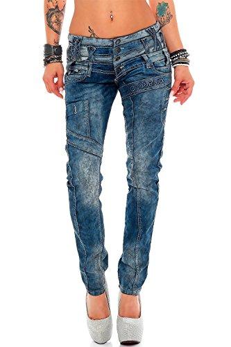 Cipo & Baxx Damen Jeans Modell-19 W29/L34