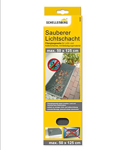 Schellenberg 50350 Sauberer Lichtschacht Schutz-Gewebe aus Fiberglas (50 x 125 cm)