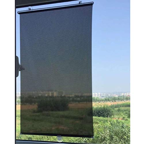 Amosfun Shades Temporary Skylight Blinds Blind Anywhere- Free- Perforated Balcony Suction Cup Sunshade Blackout- Curtain Temporary- Blinds Versatile Anywhere Portable Lightweight