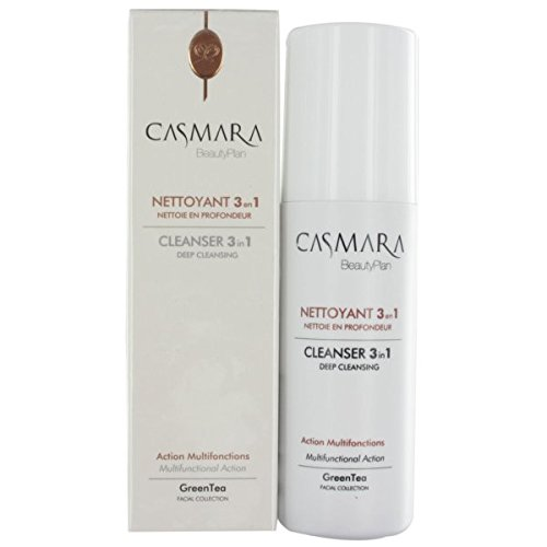 Casmara, Limpiador Multifuncion 3 en 1, Cleanser Deep Cleansing 150 ml