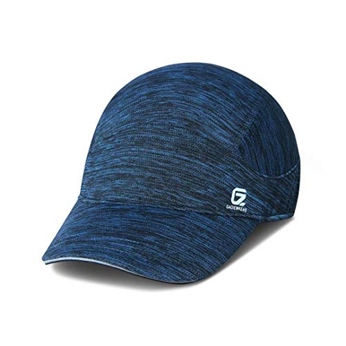 GADIEMKENSD Running Hat Quick Dry Workout Baseball Caps Breathe Hiking Cool Hats Sport Cap for Mens and Womens Dri Fit Hot Weather Cycling Golf Dad Sport Dark Blue