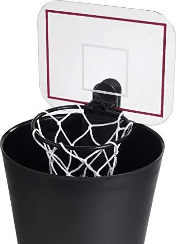 Comercial framan Basketballkorb mit Sound AL ENCESTAR - Basketkorb für Mülleimer - ideal für Zuhause und Büro