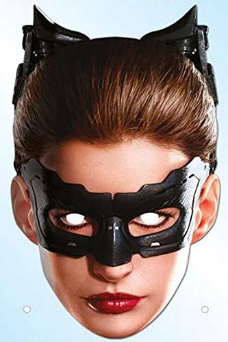 Batman-the dark knight trilogy/catwoman masque en carton de elizabeth iI avec trous pour les yeux et