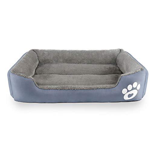 Omasi Cuccia per Cani,Letto per Cani Ultra-Morbido Lettino per animali domestici Rettangolare Lavabile in Lavatrice