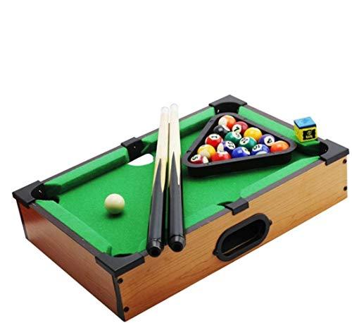 ZJ Billardtisch Tischtennistisch Tisch Air-Hockey-Spiel for Kinder/Erwachsene/Familie Leichte und Mobile Party-Spiel Halb Air Hockey Folding Multi Gaming Tischfussball Tischtennis Billard for Kind