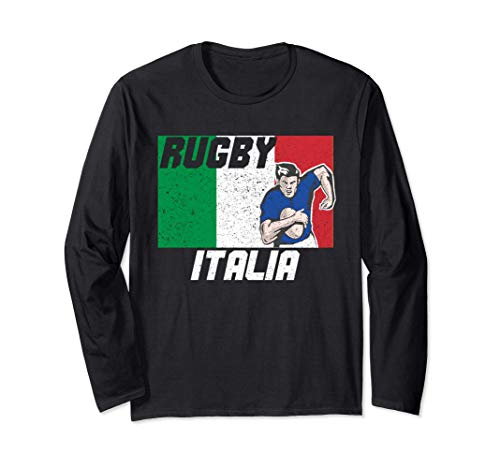 Italien rugby-trikot 2021 Italy Rugby Langarmshirt