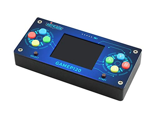 IBest GamePi20 Classic Mini Portable Retro Video Game Console for Raspberry Pi Zero/Zero W/Zero WH, with 2.0inch IPS Display