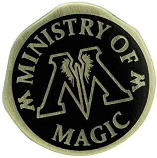 Harry Potter Ministry of Magic Unisex Pin multicolor, Metal,