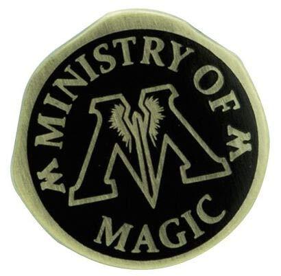 Harry Potter Ministry of Magic Unisex Spilla nero/oro metallo