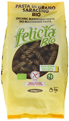 Bio Buchweizenpasta Fusilli, 12er Pack (12x 250 g)