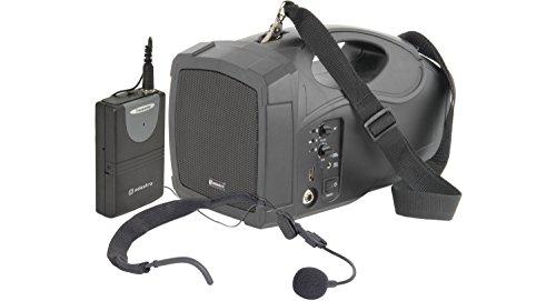 Handheld Portable PA Speaker System & Wireless Microphones
