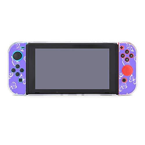 Funda para Nintendo Switch Butterfly Insects en color morado 5 piezas Funda...