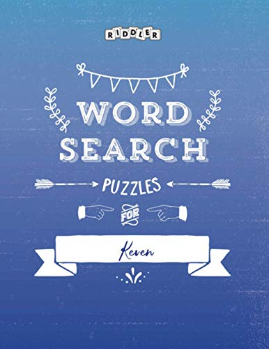 Word Search Puzzles for Keven