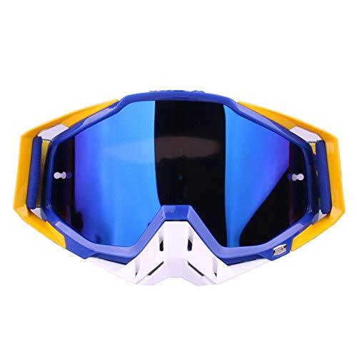 TUWEN Skibrille Motorrad Brille Brille Langlauf Brille Racing PersöNlichkeit Sport Einfach MäNner Und Frauen Geeignet FüR Ski Fahren Im Freien Klettern Reiten