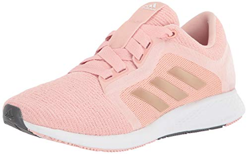 adidas Women's Edge Lux 4 Running Shoe, Copper/Copper/White, 8