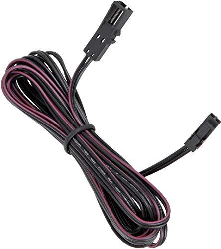2m Verlängerungs-Kabel mit MINI-AMP-Stecker/Buchse - für 12V LED Leuchten und Strahler