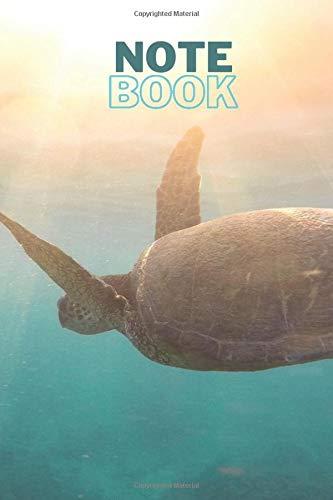 Notebook: Sea Turtles Notebook, Blank Lined Journal 6