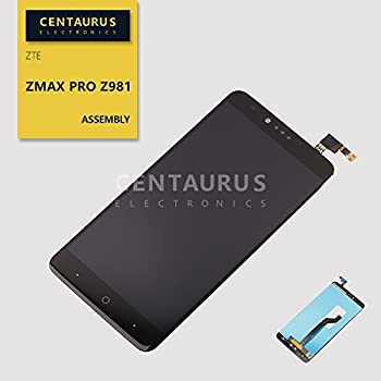 CENTAURUS Assembly Replacement for ZTE ZMax Pro Z981 6.0 LCD Display Touch Screen Digitizer Panel  NO Frame