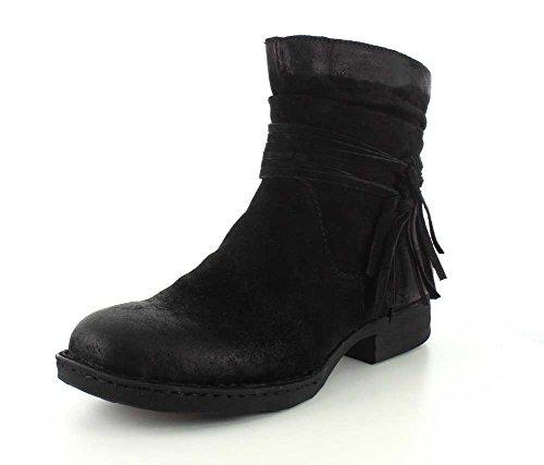 Born Women's Cross Shoes, Black Distressed - 8.5 B(M) US