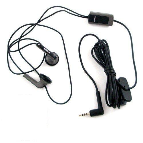 Original Nokia (HS-47) - Handy Stereo Headset - Freisprecheinrichtung mit Anrufannahme und Mikrofon für Nokia Mobiltelefone mit 2,5 mm Klinke