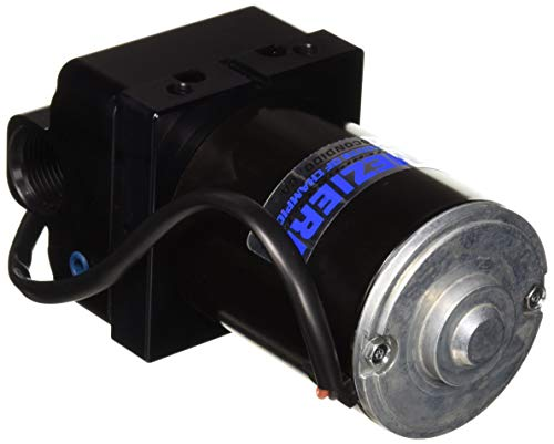 Meziere WP136S Black Inline Electric Water Pump :