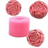 Silikonform für Seife in Blumenform, Runde Form für Schokolade, selbstgemachte Seife, DIY Handwerk...