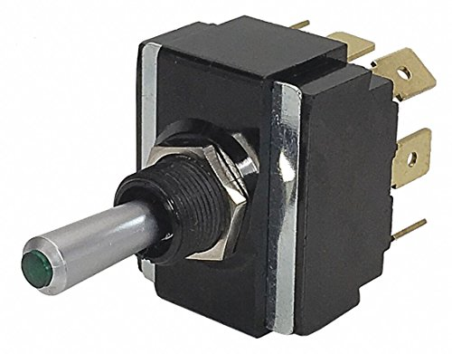 Toggle Switch, Number of Connections: 8, Switch Function: On/Off/On, 20A @ 12V AC Contact Rating