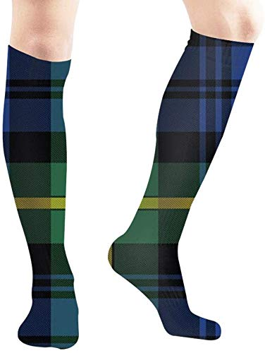 Fashion boutique clothing Campbells Argyll Ancient Tartan Element Abstract Tube Knee High Socks 50Cm Unisex Over-The-Calf Tube Sports Socks Extra Long Compression Stocking