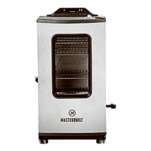 Masterbuilt MB20073119 Mes 130g Bluetooth Digital Electric Smoker, Black