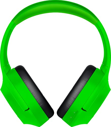 Razer Opus X Wireless Low Latency Headset: Active Noise Cancellation (ANC) - Bluetooth 5.0-60ms Low Latency - Customed-Tuned 40mm Drivers - Built-in Microphones - Green