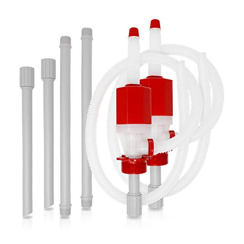Hand Transfer Pump For Drinking Water With Fast Siphon