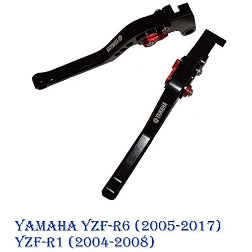 Motocicletta kit leve regolabile di frizione di freno per Yamaha YZF-R6 (2006-2017) YZF-R1 (2004-2008) lungo