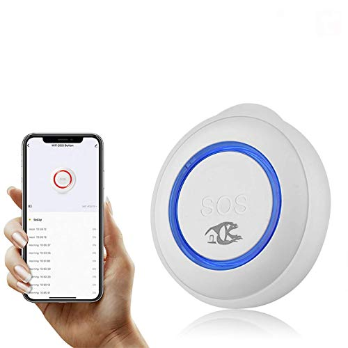 XUANWEI TUYA WIFI SOS botón inteligente sensor inalámbrico alarma ancianos alarma emergencia emergencia emergencia emergencia interruptor alarma utilizado con Tuya WIF