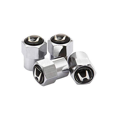 WYJBD Aluminium-Legierung Reifen Ventilkappen Rad-Reifen-Styling for Honda Mugen Power Fit Jazz-Stadt Civic Inspire...