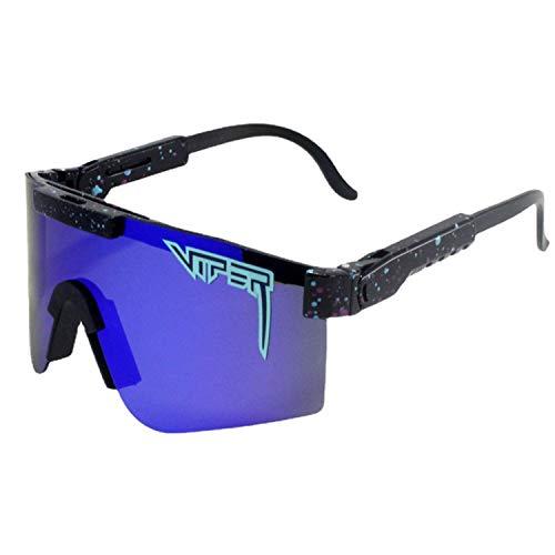 Mivyy Gafas de sol polarizadas para correr, pesca, golf, ciclismo, gafas de sol polarizadas resistentes al viento