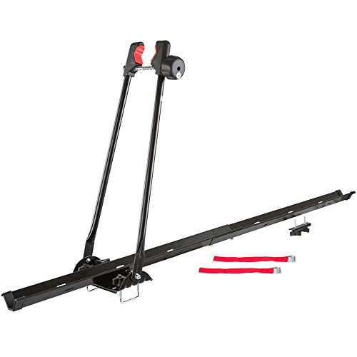 Rage Powersports Apex 1-Bike Upright SUV Roof Rack Locking Bicycle Carrier