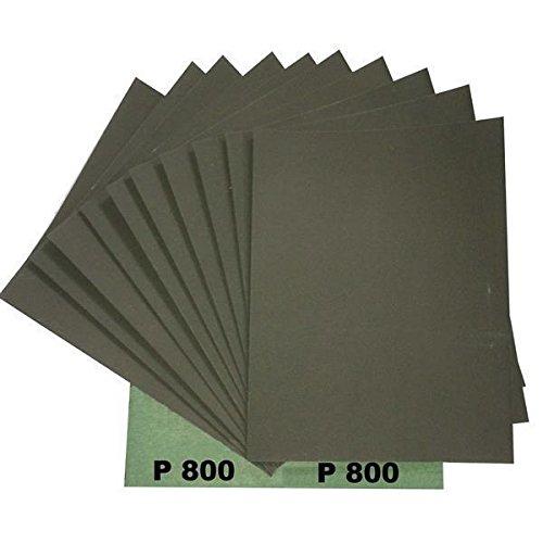 Ludwig Lacke Wasserschleifpapier 25 Blatt Grün Nassschleifpapier Körnung 800