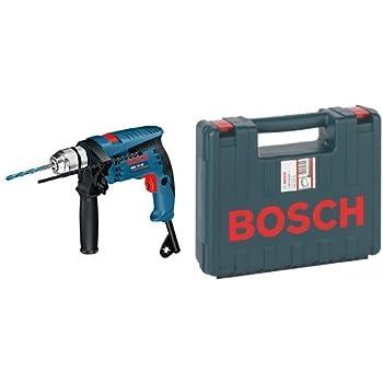 Bosch GSB 13 RE Professional - Taladro percutor (600 W, 240 V) + 2 605 438 607 - Maletín de transporte, 350 x 294 x 105 mm, pack de 1: Amazon.es: Bricolaje y herramientas