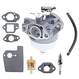 16100-Z0Y-013 Carburetor for Honda GCV190 GCV190A GV190LA HRX217 HRB217 Manual Choke Pressure Washer Lawn Mowers Engines with gaskets 16211-ZL8-000 Insulator kit