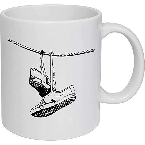 Taza de café, taza de té, zapatos colgantes taza de cerámica, regalo para mujeres y hombres