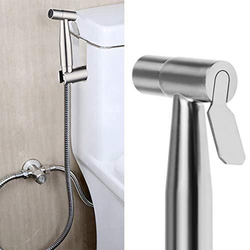 Surenhap Kit Douchette WC Mitigeur Toilette Bidet Spray à Main avceTuyau en Acier Inoxydable pour l'hygiène Intime