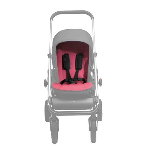 EasyWalker ej10019 June Inlay - Funda universal para cochecito de bebé (ajustable), color rosa