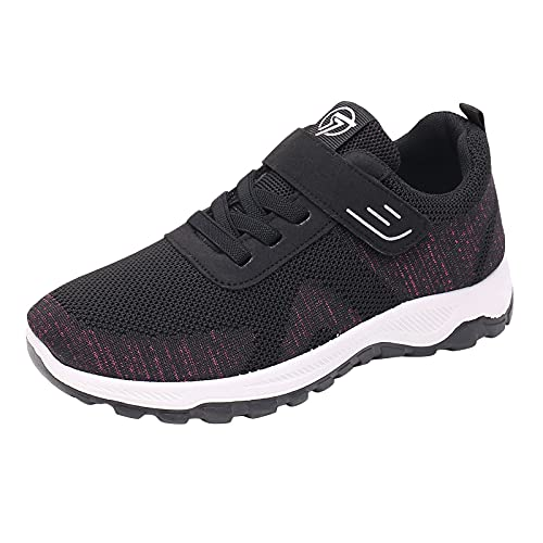 Berimaterry Zapatillas Deportivas de Mujer Planas Antideslizante Zapatos Mujer Casual cómodos Zapatillas Running Trekking Deportivas Mujer Deportivo de Calzado Casual Malla Ligero Zapatos Mujer