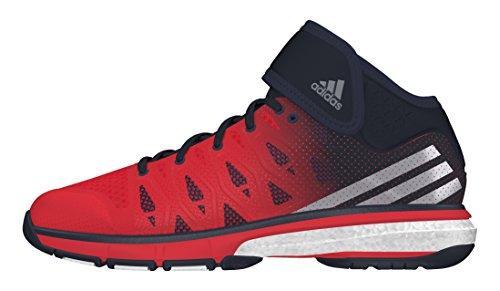 adidas Herren Energy Volley Boost MID Volleyballschuhe, Rojo (Rojint/Nocmét/Maosno), 40 2/3