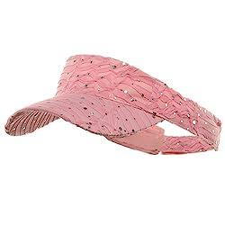Glitter Visor in Pink