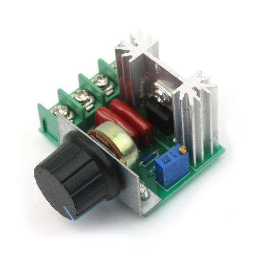 Rhx Spannungsregler (50-220 V, 2.000 W, 10 A) zur Anpassung der Geschwindigkeit von AC-Motoren, justierbar