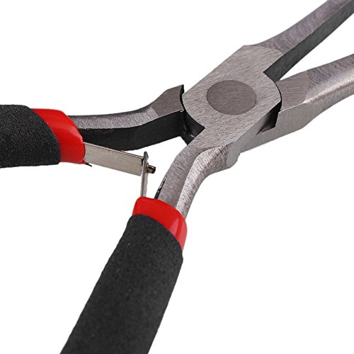 2Pcs Extra Long Needle Nose Pliers Precision Wire Plier Repair Tool (6-Inch)