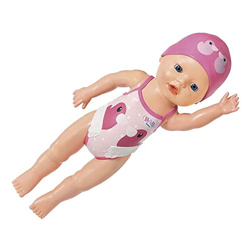 Zapf Creation 827901 BABY born My First Swim Girl Puppe für das Wasser, 30 cm