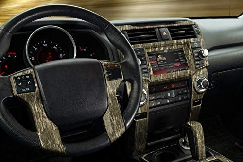 "Mossy Oak Graphics Interior Auto Dash Kit, Easy to Install, No-fade, Cast Vinyl, Hi-Def, Matte Finish, 12"" x 20"", Many Patterns"